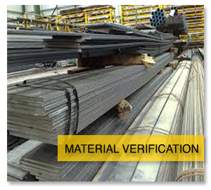 material verification